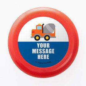 Traffic Jam Personalized Mini Discs (Set of 12)