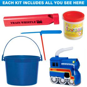 Train Party Deluxe Favor Kit (for 1 Guest)