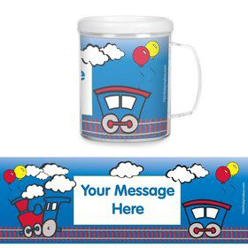 Train Party Personalized Favor Mugs (Each)