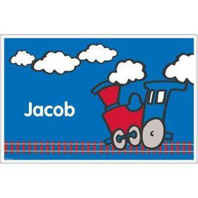 Train Party Personalized Placemat (each)