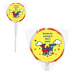 "Train Personalized 2"" Lollipops (20 Pack)"