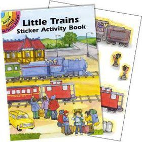 Train Sticker Book (each)