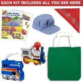 Train Ultimate Favor Kit (for 1 Guest)