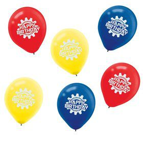 "Transformers 12"" Latex Balloons (6 Pack)"