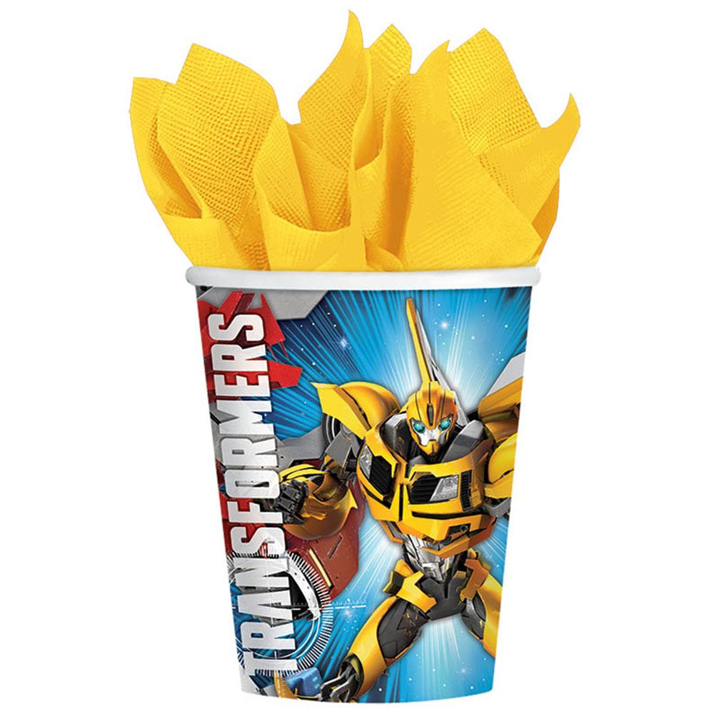Transformers 9Oz Cups (8 Pack) BB581413