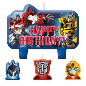 Transformers Candle Set (4 Pack)