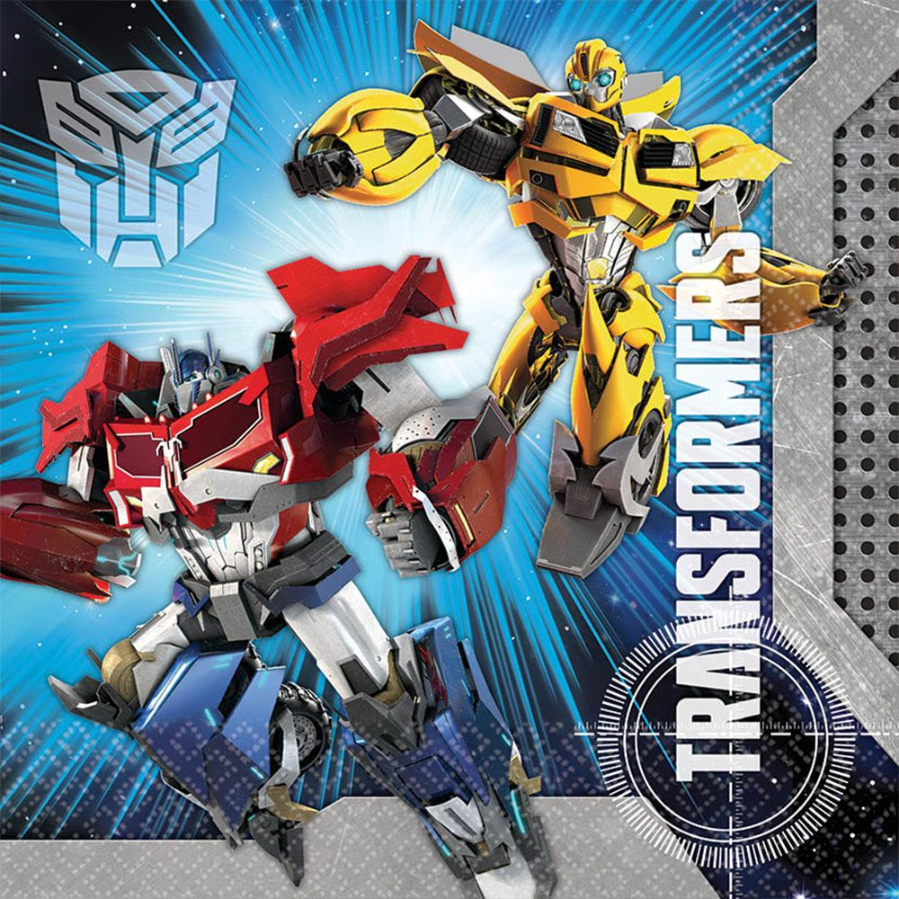 Transformers Luncheon Napkins (16 Pack) - Party Supplies BB511413