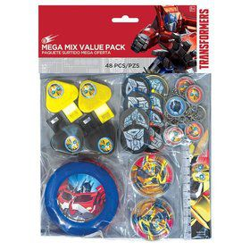 Transformers Mega Mix Favor Pack (For 8 Guests)