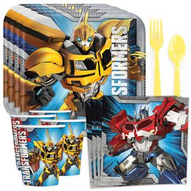 Transformers Party Standard Tableware Kit (Serves 8)