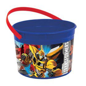 Transformers Plastic Favor Container (Each)