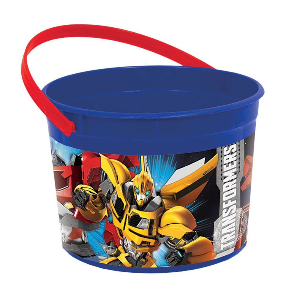 Transformers Plastic Favor Container (Each) - Party Supplies BB261413