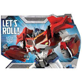 Transformers Postcard Invitations (8 Pack)