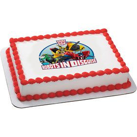 Transformers Quarter Sheet Edible Cake Topper (Each)