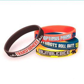 Transformers Rubber Bracelet Favors (4 Pack)