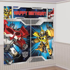 Transformers Scene Setter Wall Decorating Kit (Each)