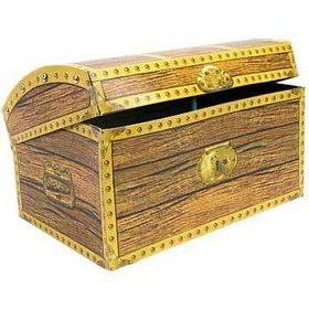 Treasure Chest 3-D Centerpiece (each)