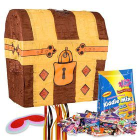 Treasure Chest Pinata Kit