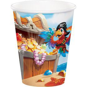 Treasure Island Pirate 9oz. Cup (8)