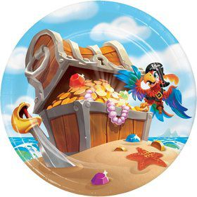 Treasure Island Pirate Dessert Plate (8)