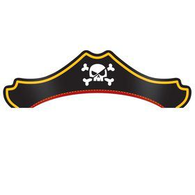 Treasure Island Pirate Party Hats (8)