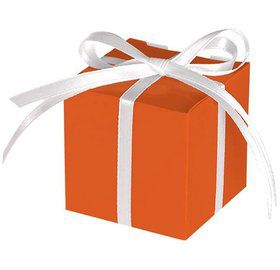Treat Boxes Orange (12 Pack)