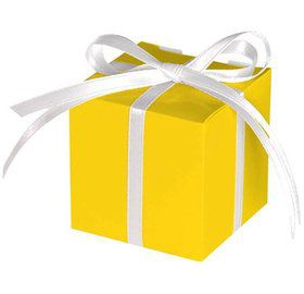 Treat Boxes Yellow (12 Pack)
