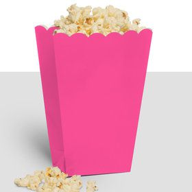 Treat Popcorn Box Pink (10 Pack)