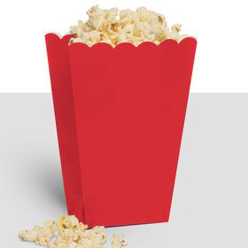 Treat Popcorn Box Red (10 Pack)