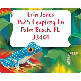 Tree Frog Personalized Address Labels (Sheet of 15)