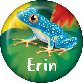 Tree Frog Personalized Mini Magnet (Each)