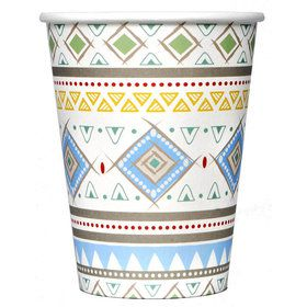 Tribal Boy Party Cups (8)