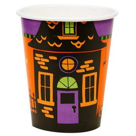 Trick or Treat Halloween 9oz Paper Cups (8)