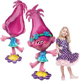 "Trolls 58"" Poppy Airwalker (1)"