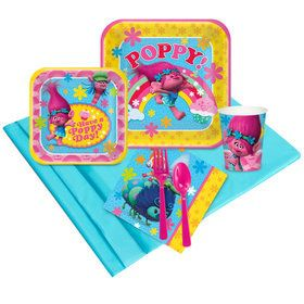 Trolls Deluxe Tableware Kit (Serves 8)
