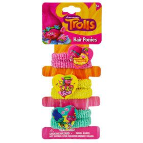 Trolls Hair Ties (6 Count)