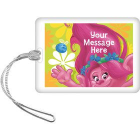 Trolls Party Personalized Bag Tag (Each)