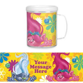 Trolls Party Personalized Favor Mug (Each)
