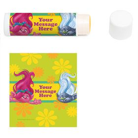 Trolls Party Personalized Lip Balm (12 Pack)