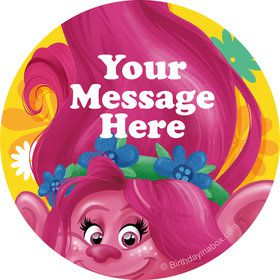 Trolls Party Personalized Stickers (Sheet of 12)