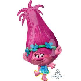 "Trolls Poppy 31"" Foil Balloon (1)"