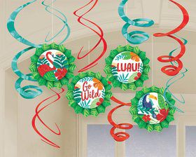 Tropical Junlge Fan & Swirl Decorating Kit
