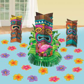 Tropical Tiki Table Decorating Kit