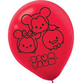"Tsum Tsum 12"" Latex Balloons (6 Count)"