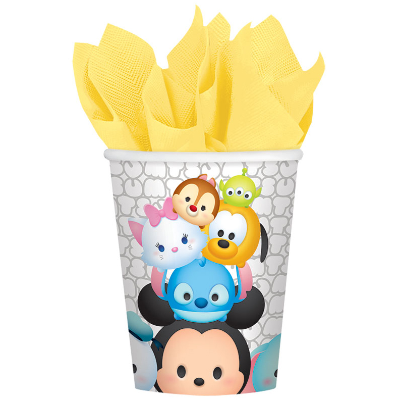 Tsum Tsum 9Oz Cups (8 Count) BB581659