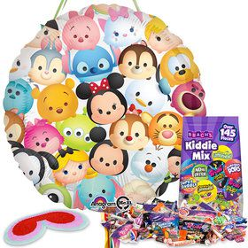 Tsum Tsum Birthday Pull String Pinata Kit