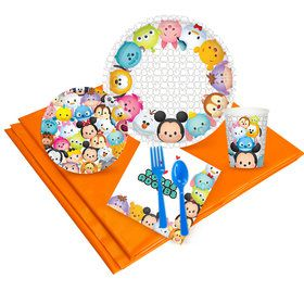 Tsum Tsum Deluxe Tableware Kit (Serves 8)