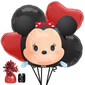 Tsum Tsum Minnie Mouse Balloon Bouquet Kit