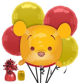 Tsum Tsum Winnie the Pooh Balloon Bouquet Kit