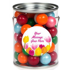 Tulips Personalized Paint Cans (6 Pack)