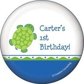 Turtle Party Personalized Magnet (each)